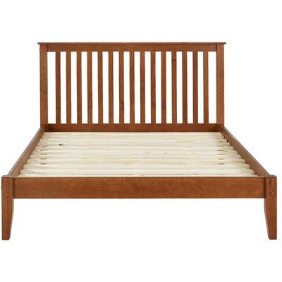 West Highland Platform Bed Finish: Cherry, Size: Queen
