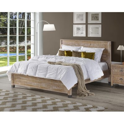 Cathryn Platform Bed Color: Barnwood, Size: King