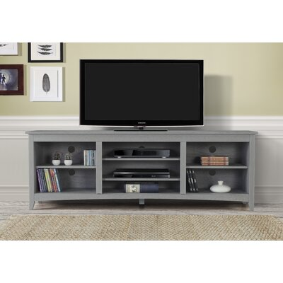 Dimatteo 60-70 TV Stand Color: Gray, Width of TV Stand: 60