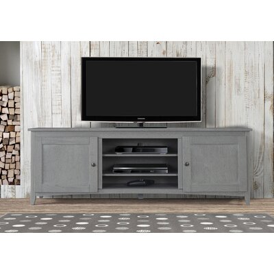 Cooke 60-70 TV Stand Color: Gray, Width of TV Stand: 60