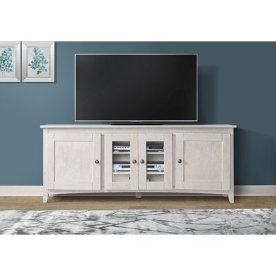 Pasley 60-70 TV Stand Color: White, Width of TV Stand: 60