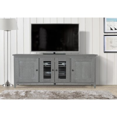Pasley 60-70 TV Stand Color: Gray, Width of TV Stand: 70