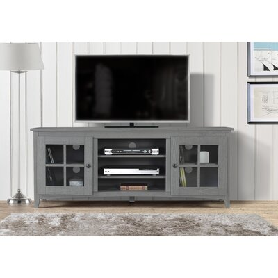 Place 60-70 TV Stand Color: Gray, Width of TV Stand: 60