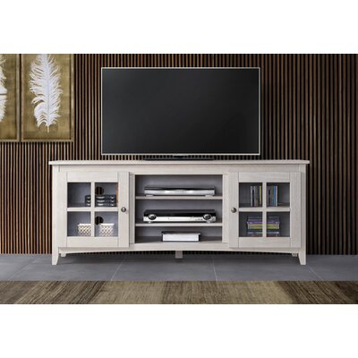 Place 60-70 TV Stand Color: White, Width of TV Stand: 60