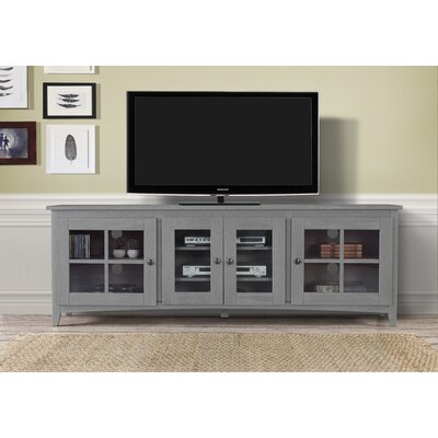 Tesfai 60-70 TV Stand Color: Gray, Width of TV Stand: 70