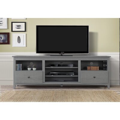 Fiala 60-70 TV Stand Color: Gray, Width of TV Stand: 60