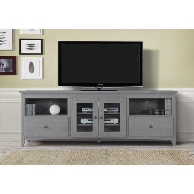 Burger 60-70 TV Stand Color: Gray, Width of TV Stand: 70