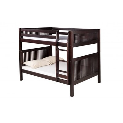 Full Over Full Bunk Bed Color: Cappuccino
