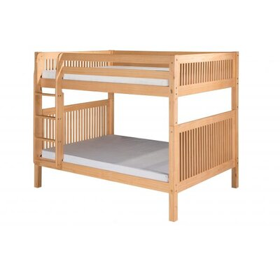 Full Over Full Bunk Bed Color: Natural