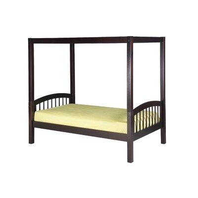 Camaflexi Twin Canopy Bed - Finish: Cappuccino at Sears.com