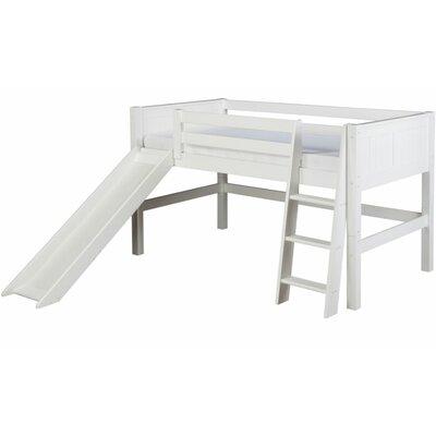 Camaflexi Low Loft Bed with Slide - Finish: Cappuccino at Sears.com