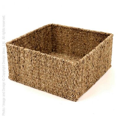 Water Hyacinth Storage Basket Size: Small