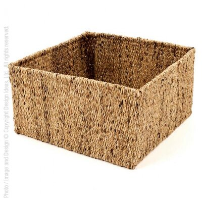 Water Hyacinth Storage Basket Size: Large