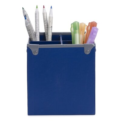 Frisco Pencil Cup Finish: Navy/Gray 3060503