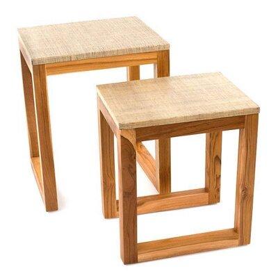 Siji 2 Piece End Table Set