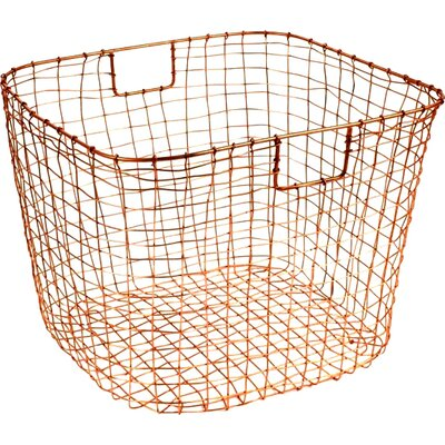 Cabo Harvest Basket Color: Copper