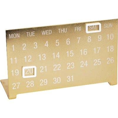 Coronet Brass Calendar