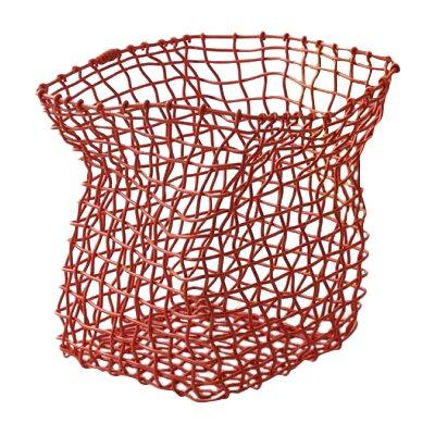 Flexket Waste Basket Color: Orange 3391029