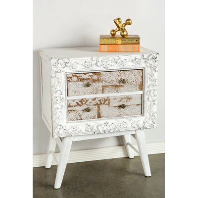 Caprice 2 Drawer Nightstand