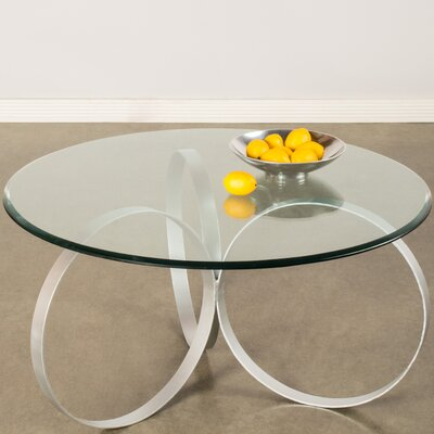 Sienna Coffee Table Base Color: Silver