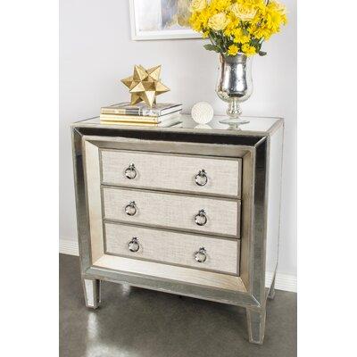 Cassidy 3 Drawer Dresser