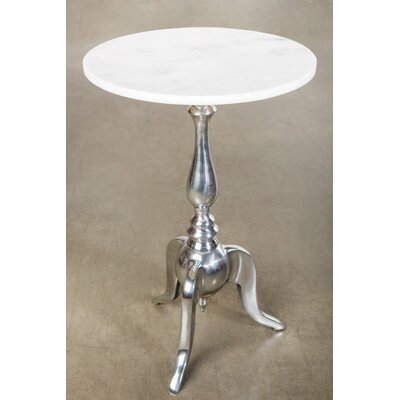 Rena End Table Color: Silver