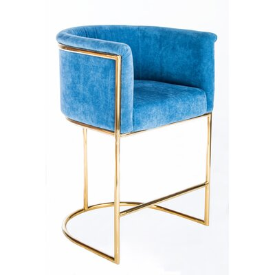 Mira 26 inch Gold Counter Stool