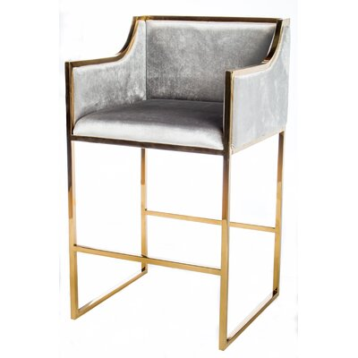 Erin Gold Bar Chair (Set of 2)