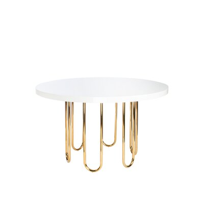 Willow Gold Base Dining Table