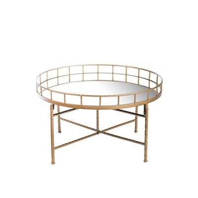 Ariella Mirrored Coffee Table