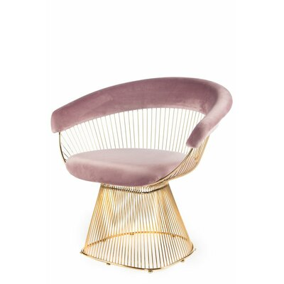 Soleil Armchair Upholstery: Pink