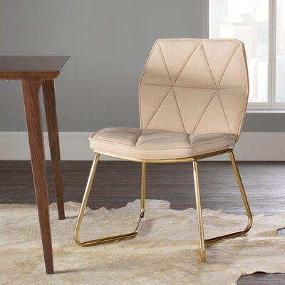 Tally Gold Dining Side Chair (Set of 2)