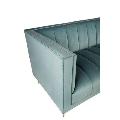 Delfausse Sofa Upholstery: Seafoam