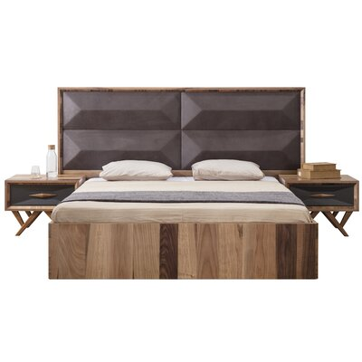 Keil Upholstered Platform Bed Size: King