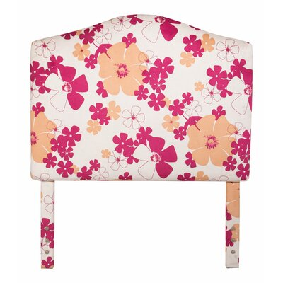 Cottage Twin Upholstered Panel Headboard