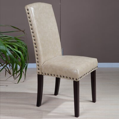 Castilian Upholstered Dining Chair Upholstery: Creamy White