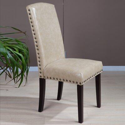 Castilian Upholstered Dining Chair Upholstery: Creamy White