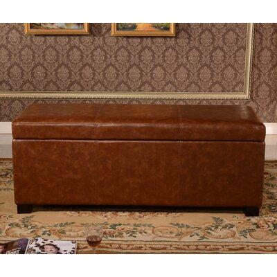 Classic Storage Bedroom Bench Color: Brown