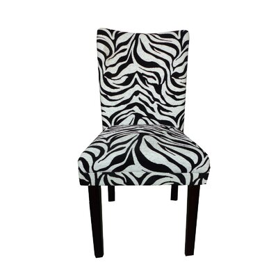 Tiger Striped Parsons Chair