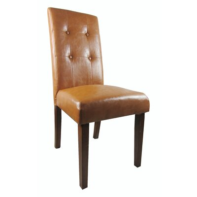 Classic Genuine Leather Upholstered Dining Chair