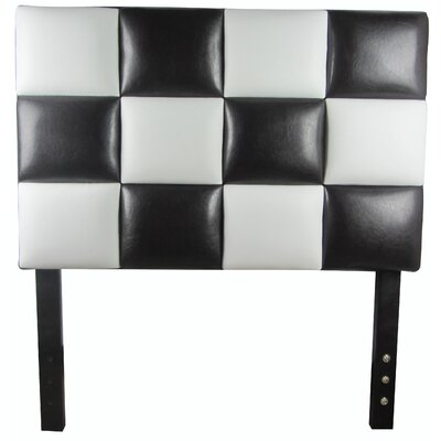 Modern Twin Upholstered Panel Headboard