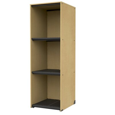 Band-Stor Storage Cabinet Frame Color: Auburn Mahogany, Trim Color: Black Product Image 284