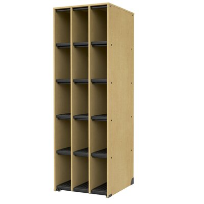 Band-Stor Storage Cabinet Frame Color: Auburn Mahogany, Trim Color: Auburn Mahogany Product Image 2690