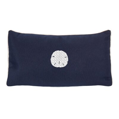 Eastford Beach Sunbrella Outdoor Lumbar Pillow Color: Navy