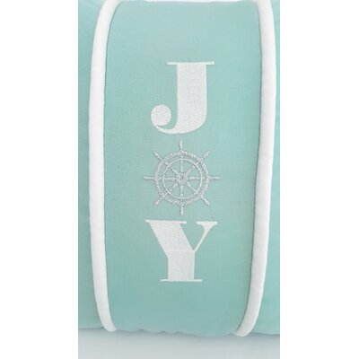 Joy Indoor/Outdoor Sunbrella Pillow Size: 18 H x 18 W x 3.75 D