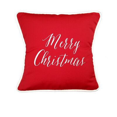 Sunbrella Christmas Holiday Throw Pillow
