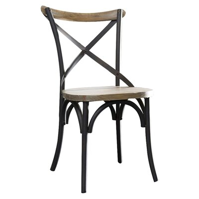 Home Loft Concept Walker Edison Reclaimed Deluxe Dining Chairs (Set of 2)