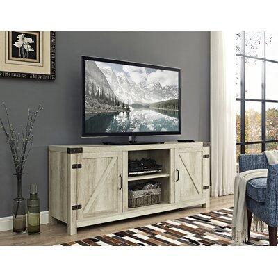 Anken TV Stand Finish: White Oak