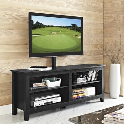 Saunders 58 TV Stand Color: Black