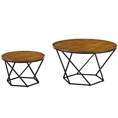 Harper Geometric Coffee Table